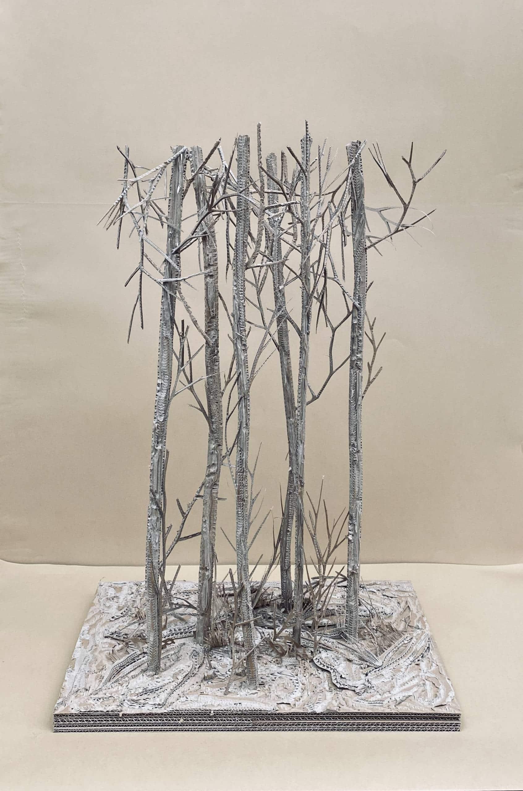 Eva Jospin, Bois des Nymphes (maquette)