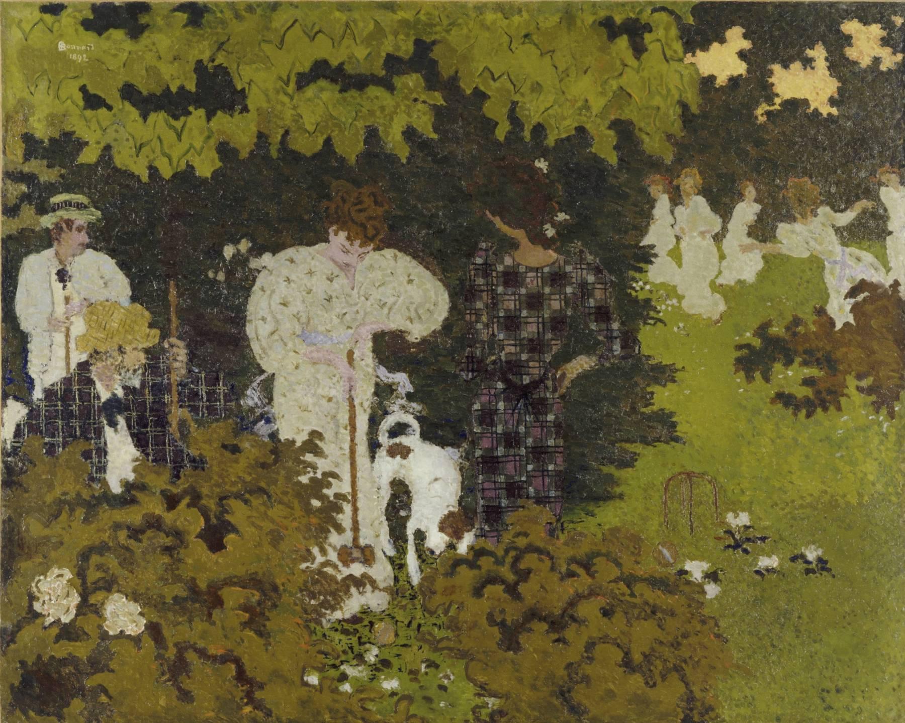 Pierre Bonnard, Crépuscule ou La Partie de croquet
