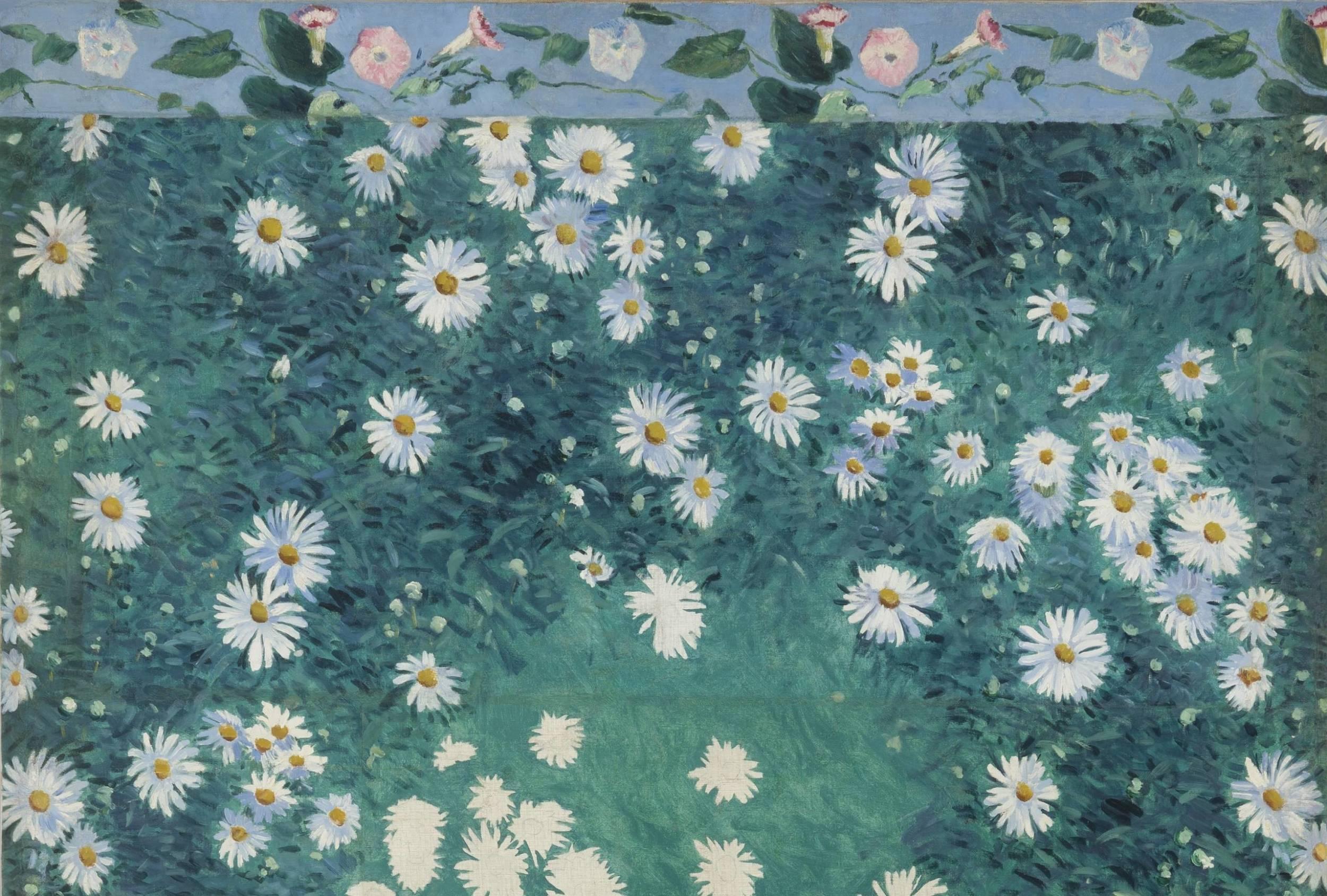 Gustave Caillebotte, Parterre de Marguerites