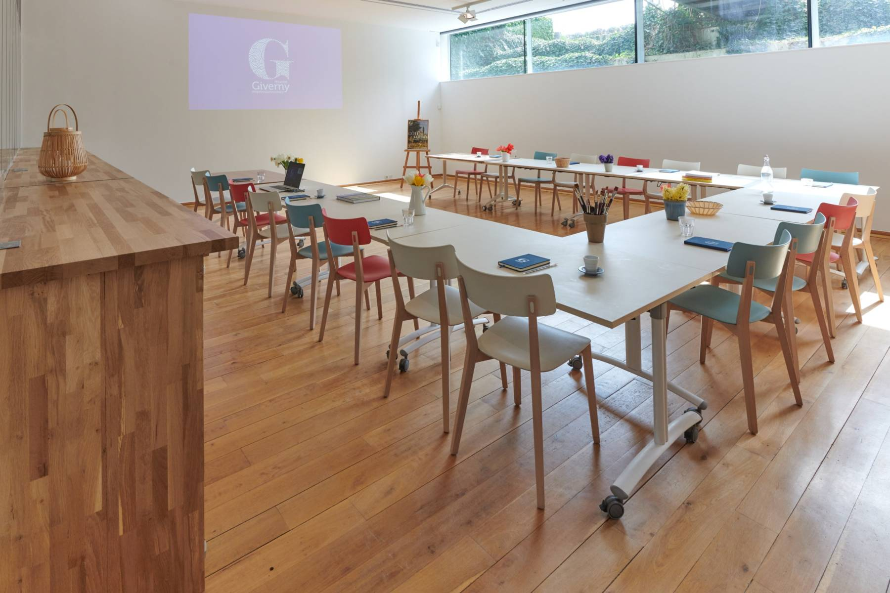 La salle de réunion du musée, L'Atelier