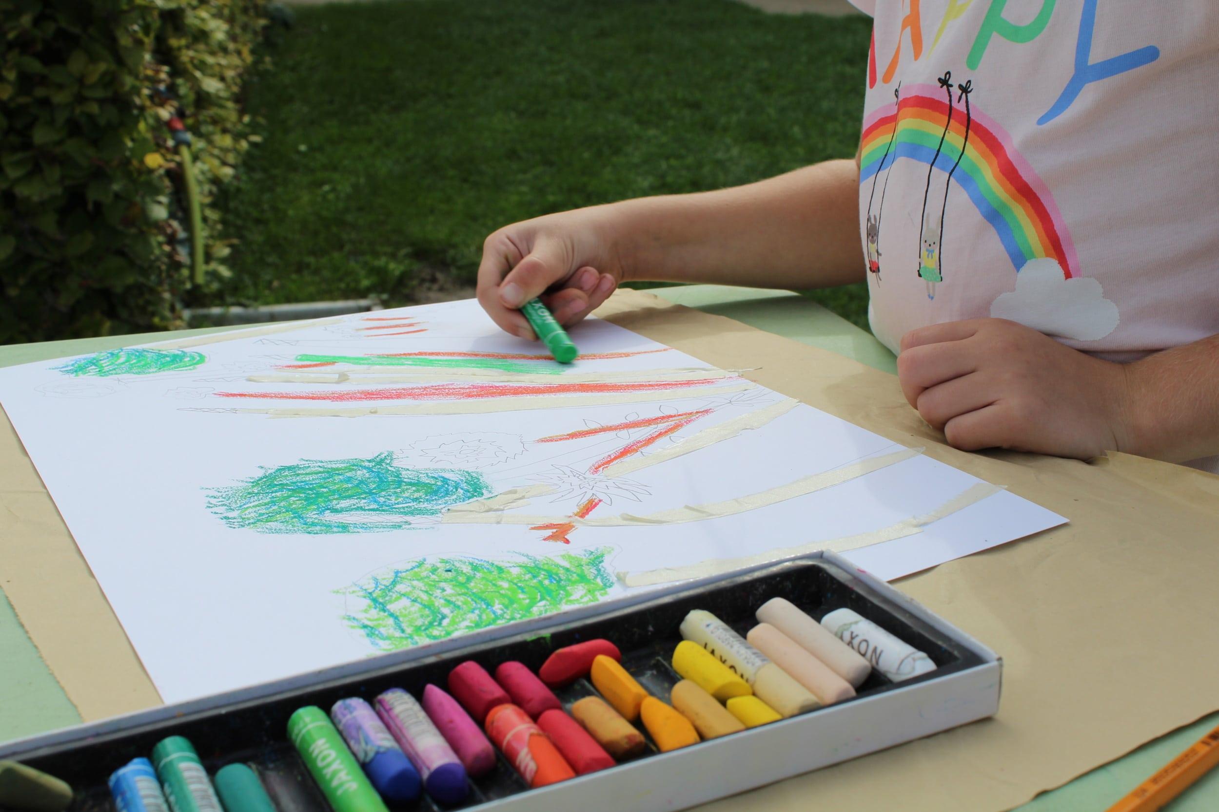 Atelier enfant au musée des impressionnismes Giverny