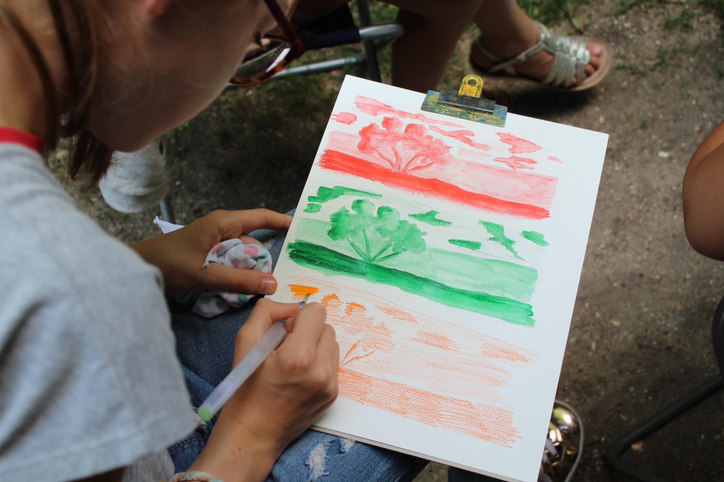 Atelier famille au musée des impressionnismes Giverny