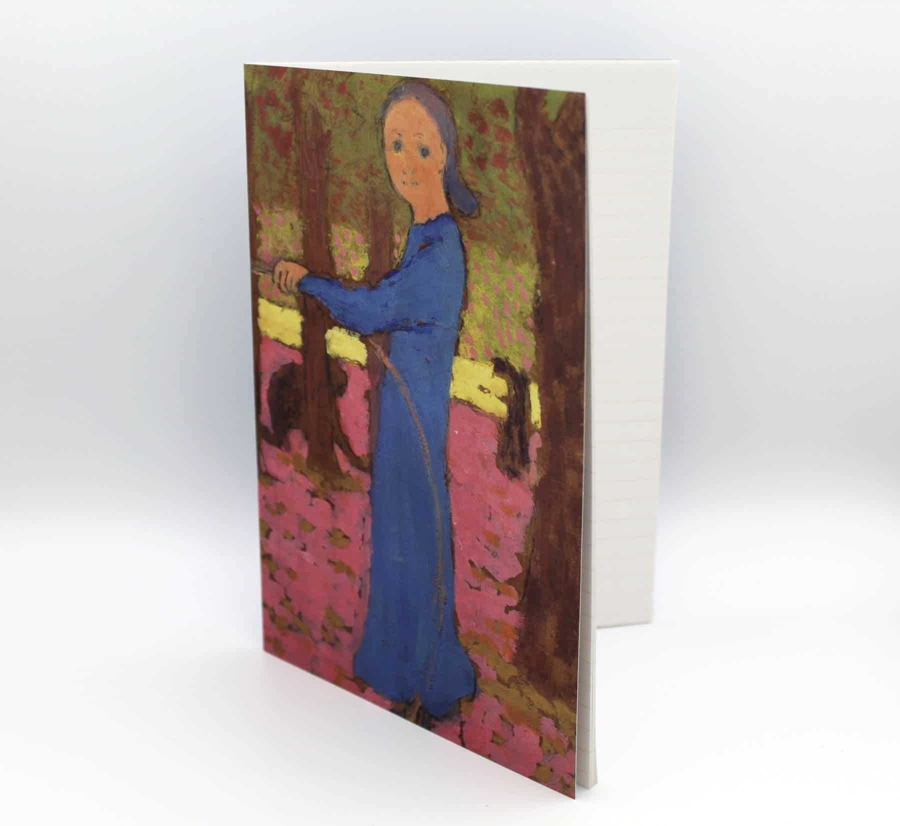 Cahier A5 - Edouard Vuillard, Fillette au cerceau