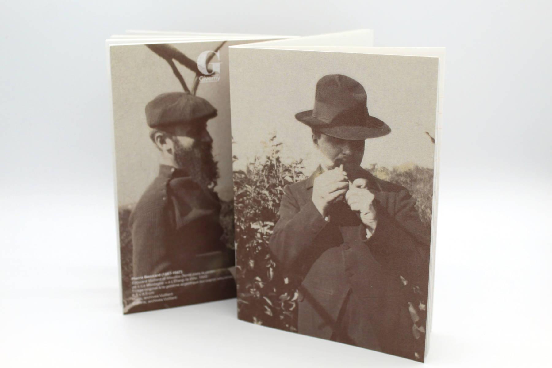 Cahier A6 - Photo de Vuillard et Denis par Bonnard