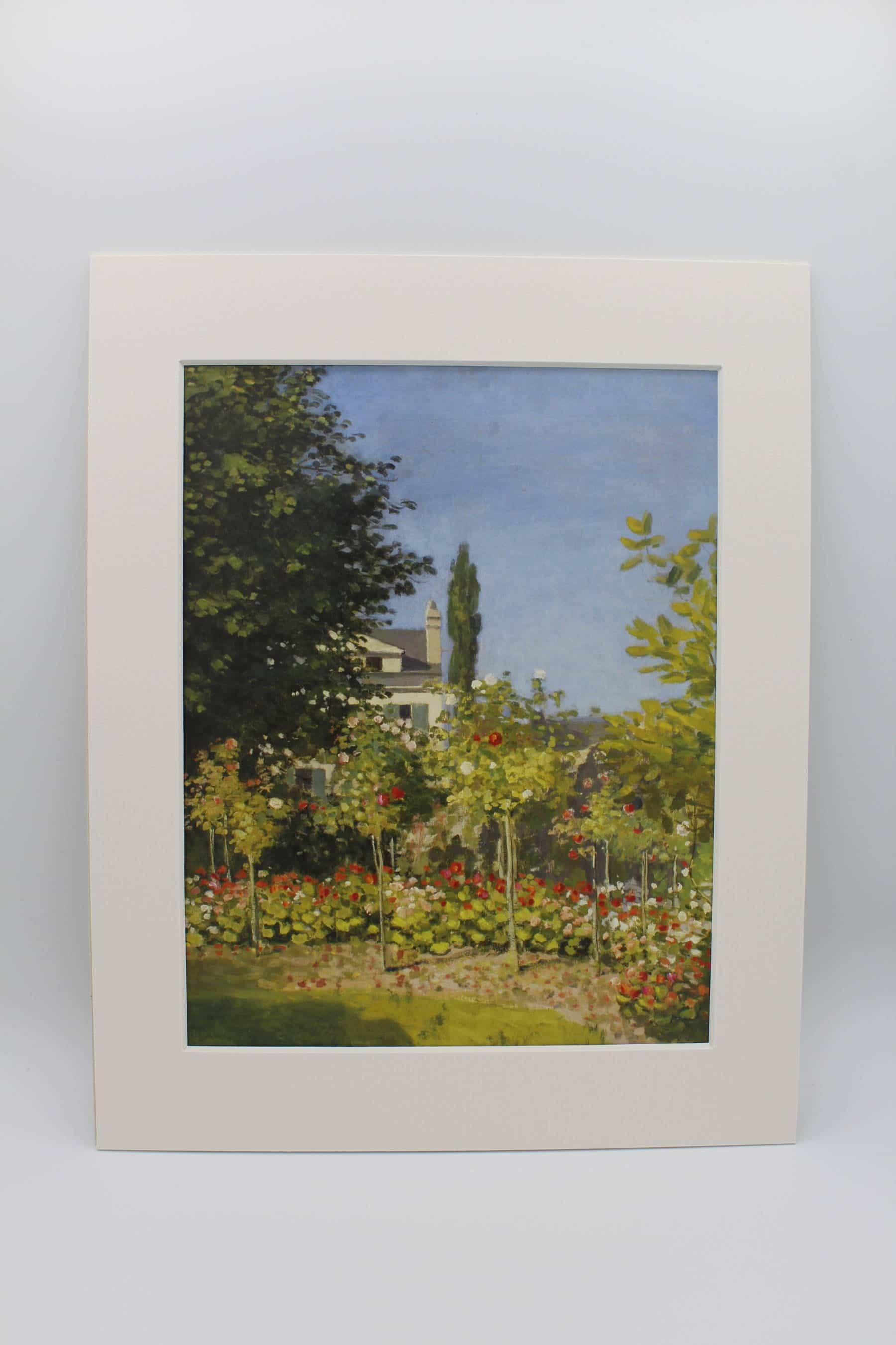 Passe-partout - Claude Monet, Jardin en fleurs